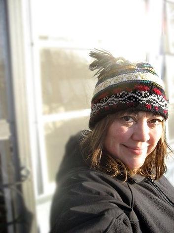 Leyna smiling at camera