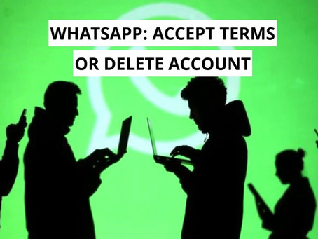 New WhatsApp Terms And Policies: It will have your bank details, Contacts, Whom you're Texting.