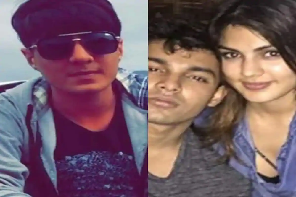 zaid vilatra , Rhea chakraborty with her brother showik