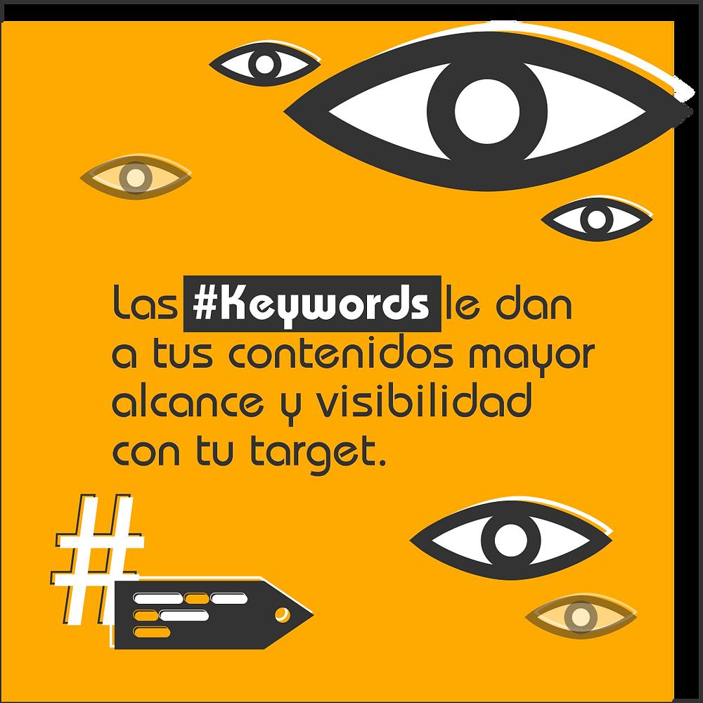 ¿Para qué son importantes las keywords?