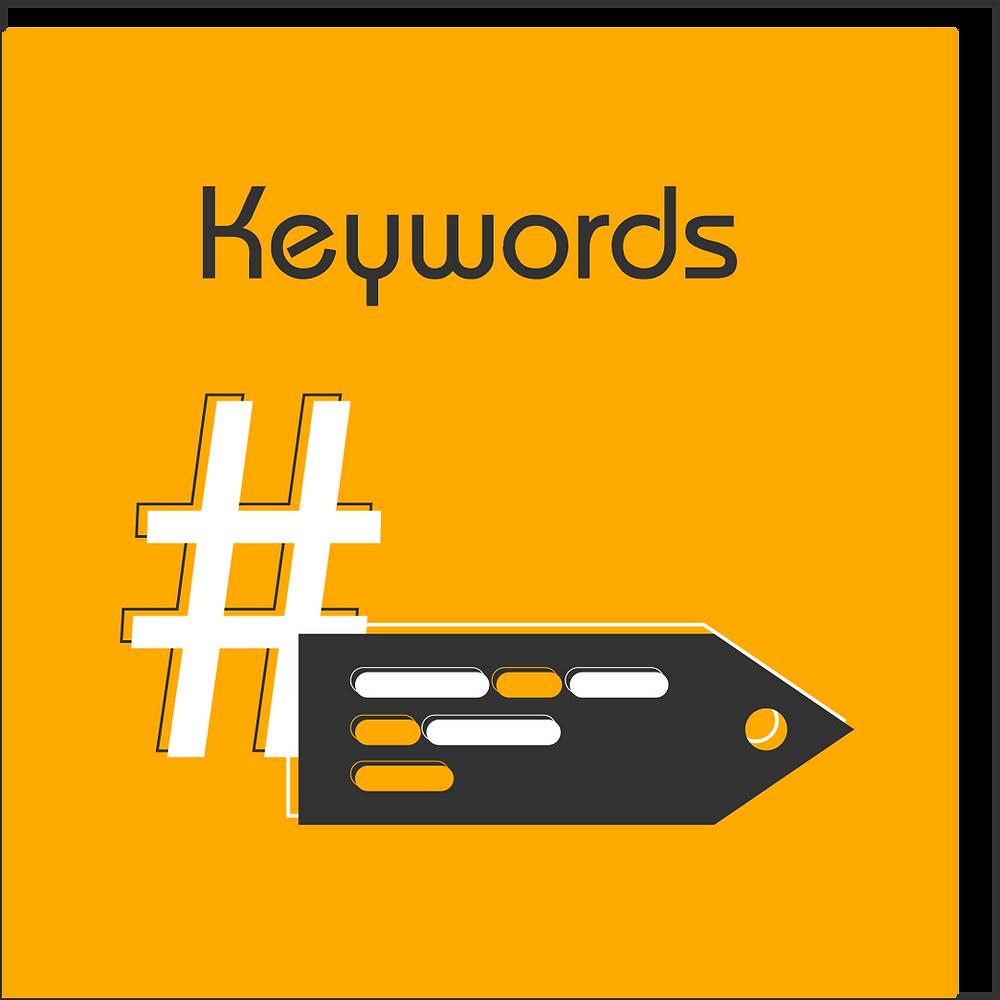 keywords o palabras clave