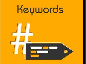 De qué se tratan las keywords o palabras clave y como posicionan tus contenidos