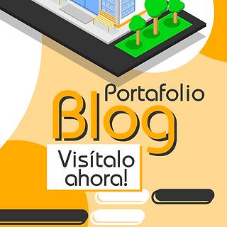 Blog de Diseño de Portafolio empresarial