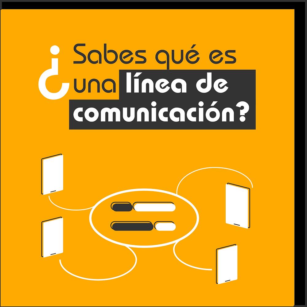 ¿Qué son las líneas de comunicación?