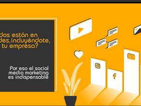 Todos están en redes sociales, incluyéndote, ¿y tu empresa?