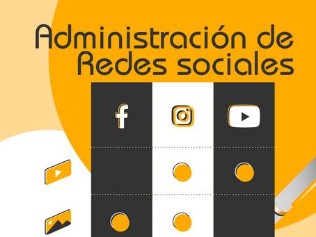 Administración y gestión adecuada de las redes sociales para tu marca