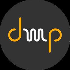 DMP logo circulo gris