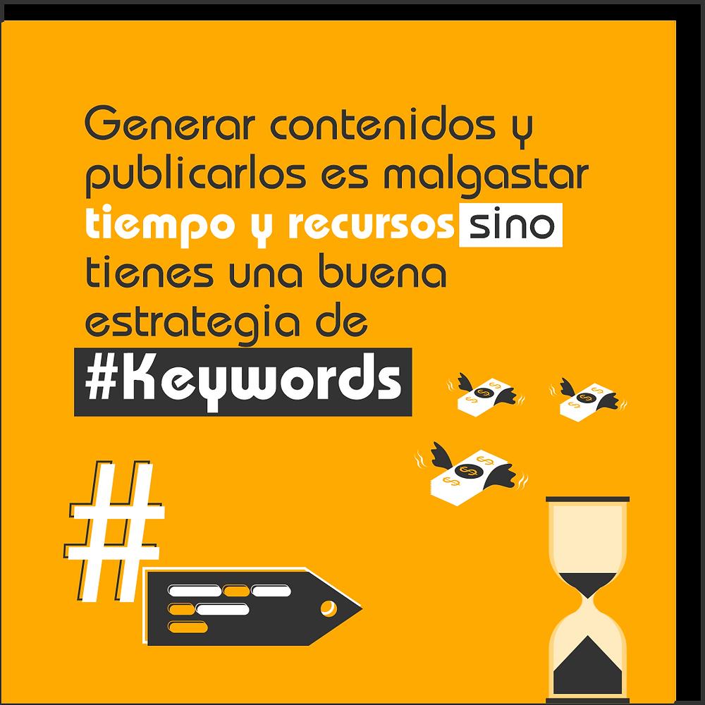 ¿por qué son tan importantes las keywords?