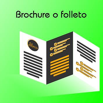 Diseño de Brochure o folleto