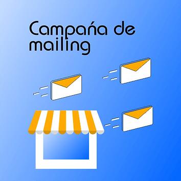 Campañas de mensajes de mail