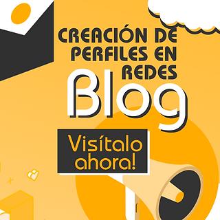 Blog de Creación de perfil en redes sociales