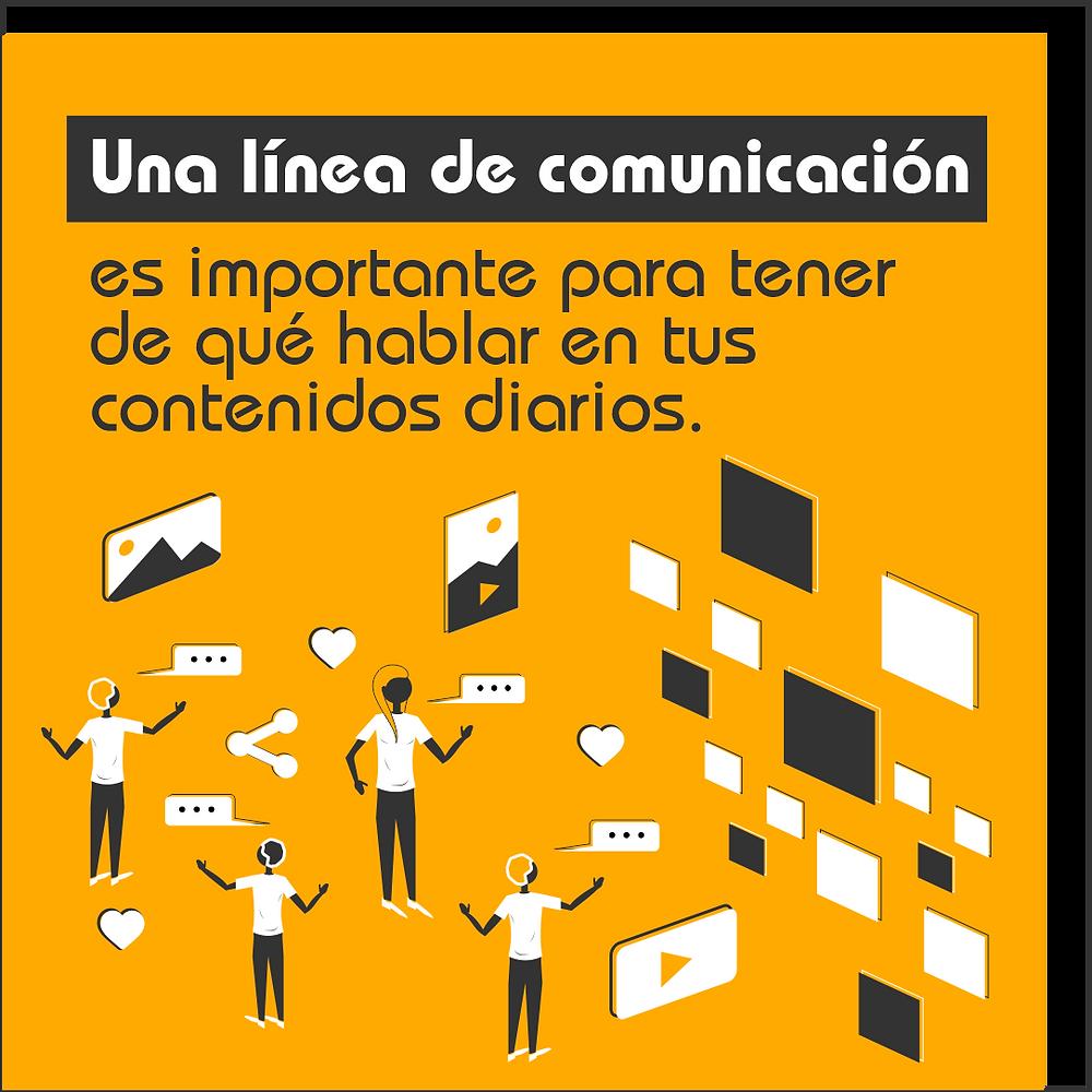 Importancia de las líneas de comunicación