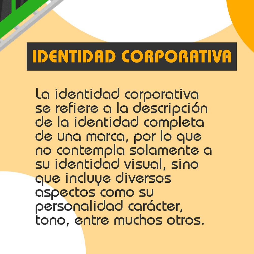 ¿Qué es la identidad corporativa?