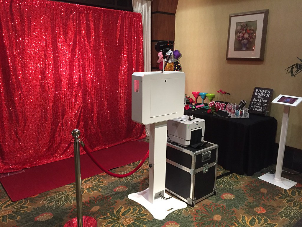Our Red carpet booth.