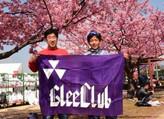 静岡マラソンで後輩が走るのを応援しました。