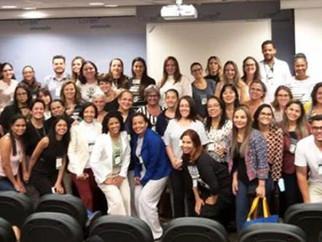 Enfermeiras doINAO participaram da I JORNADA DE ENFERMAGEM EM NEUROCIRURGIA E NEUROLOGIA em evento