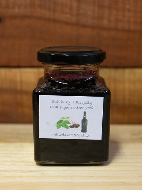 The Littlest Herb Company - Elderberry & Port Jelly