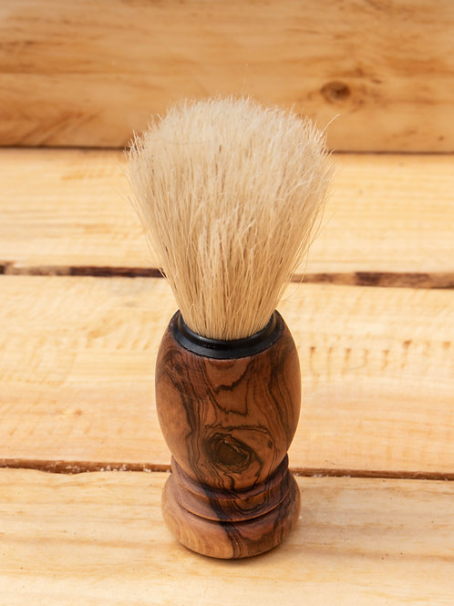 Emma's Soap Olive Wood Shaving Brush