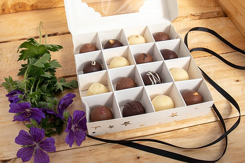 Baked By Belle - 16 Belgian Chocolate Truffles