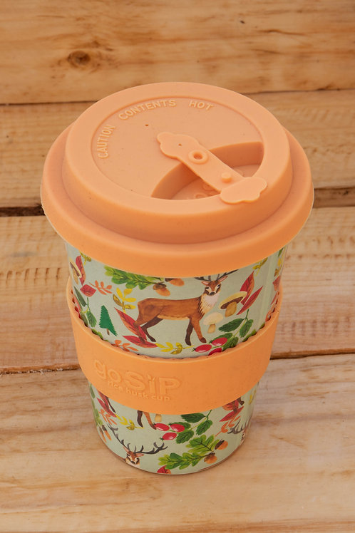 Rice Husk Travel Mug - Peach