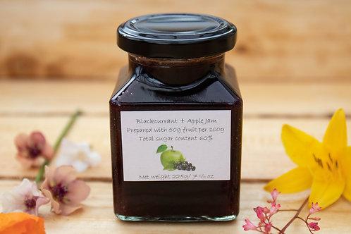 The Littlest Herb Company - Blackcurrant & Apple Jam