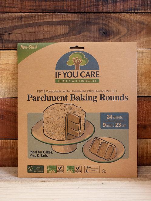 Non Plastic Beach - Parchment Baking Rounds