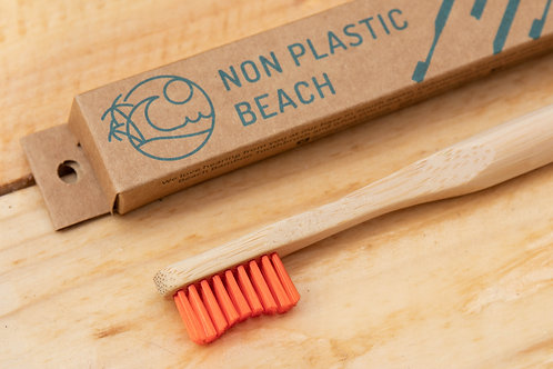 Bamboo Toothbrush (Adult) - Non Plastic Beach
