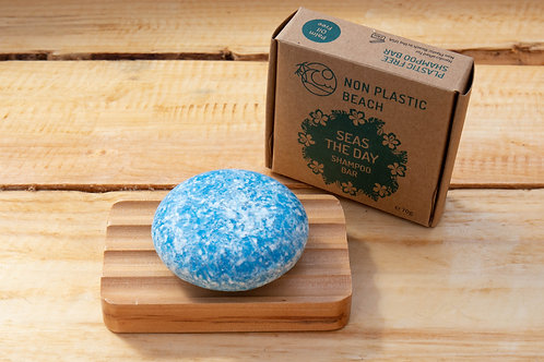 Seas the Day Shampoo Bar - Non Plastic Beach