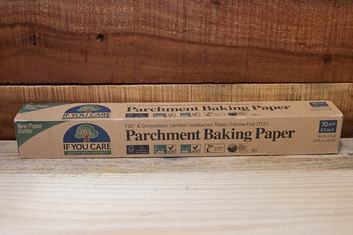 Compostable Baking Parchment Paper Roll - Non Plastic Beach