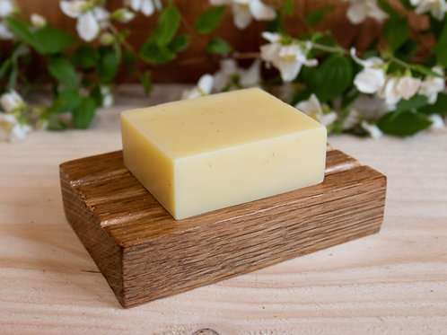 Handmade Oroco Wood Rectangular Soap Dish