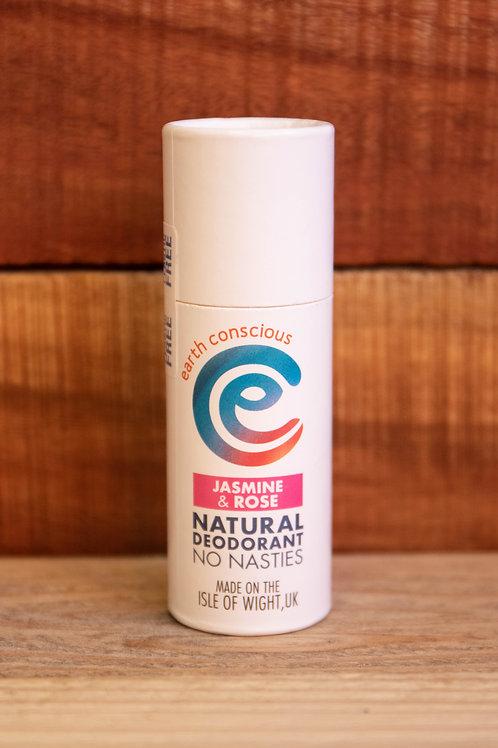 Earth Conscious - Jasmine & Rose Natural Deodorant