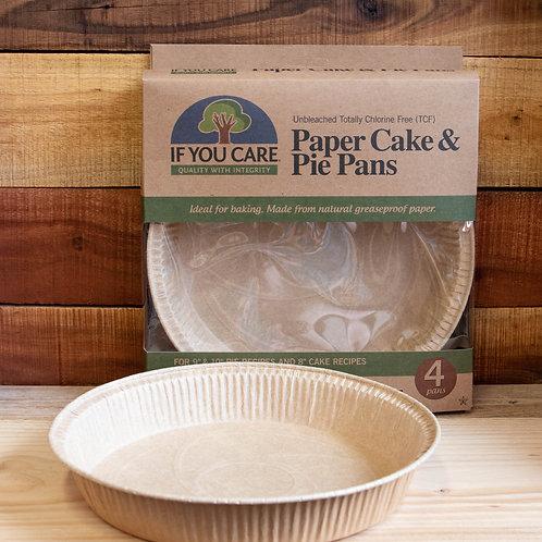 Non Plastic Beach - Paper Cake & Pie Pans