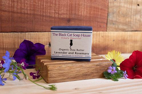 Black Cat Soap - Lavender & Rosemary