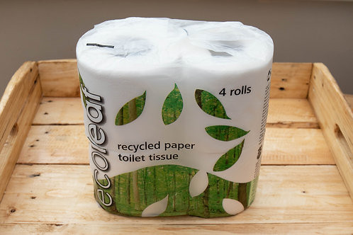 Eco Leaf Toilet Roll 4 pack