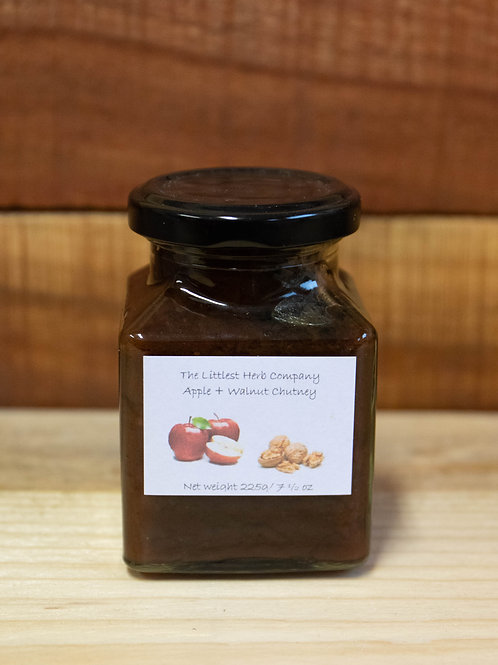 The Littlest Herb Company - Apple & Walnut Chutney