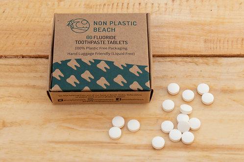Fluoride Toothpaste Tablets - Non Plastic Beach