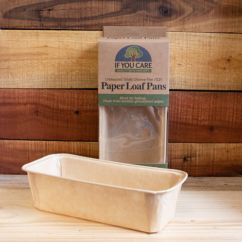 Non Plastic Beach - Loaf Paper Tins
