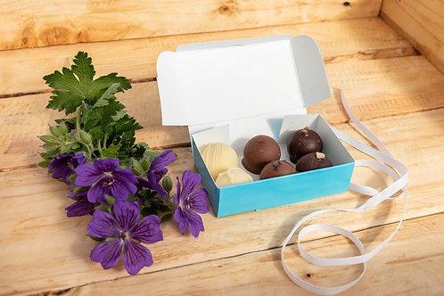 Baked By Belle - 6 Belgian Chocolate Truffles