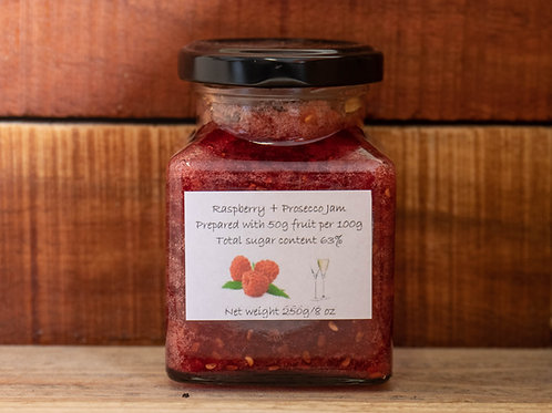 The Littlest Herb Company - Raspberry & Prosecco Jam