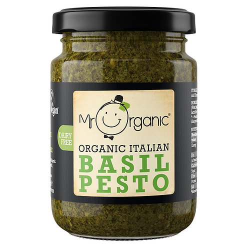 Mr Organic Basil Pesto