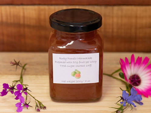 The Littlest Herb Company - Ruby Pomelo Marmalade