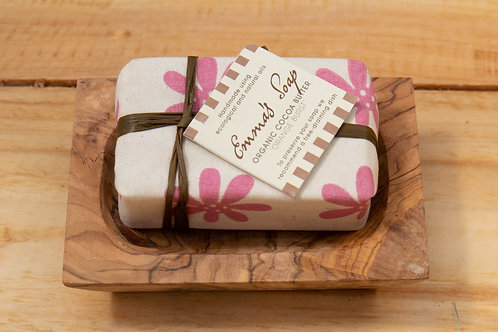 Emma's Organic Cocoa Butter Soap - Orange Burst