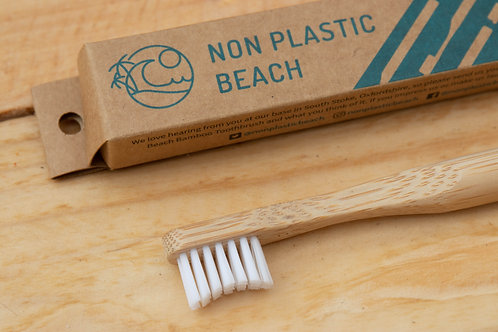 Bamboo Toothbrush (Children's) - Non Plastic Beach