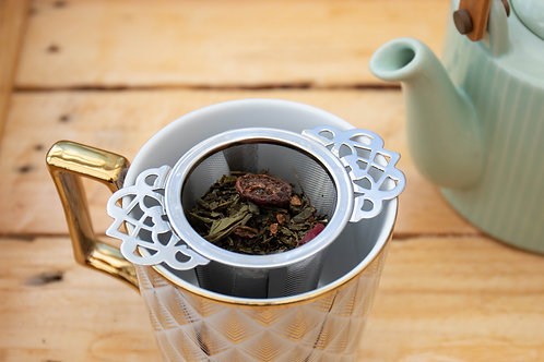 LibberTEA - Cranberry Rose Sencha Green Tea