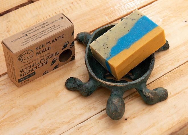 Seychelles Kitchen Soap Non Plastic Beac