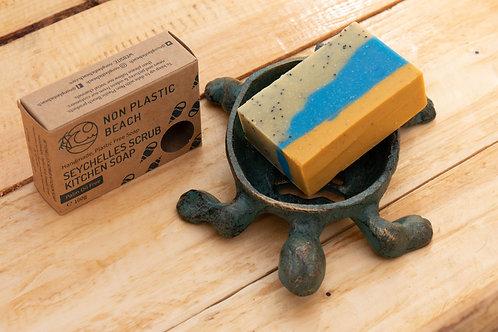 Seychelles Scrub Kitchen Soap - Non Plastic Beach