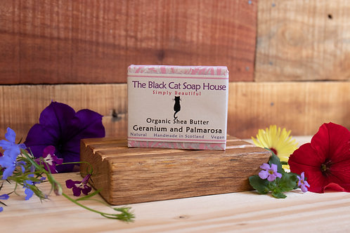 Black Cat Soap - Geranium & Palmarosa