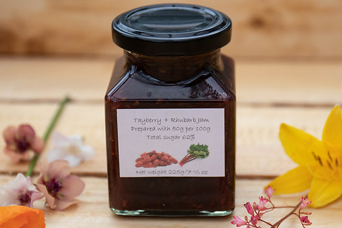 The Littlest Herb Company - Tayberry & Rhubarb Jam