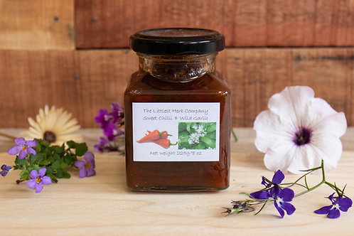 The Littlest Herb Company - Sweet Chilli & Wild Garlic Chutney