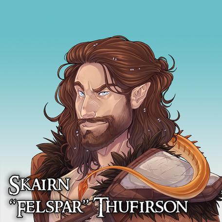 """Skairn """"Thufirson"""" Fellspar"""